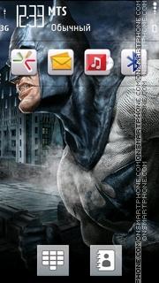 Batman 25 theme screenshot
