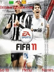 FIFA 11 theme screenshot
