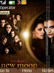 Edward and Bella theme screenshot