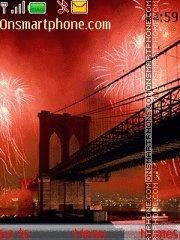Brooklyn bridge theme screenshot