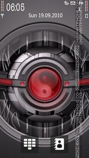 Скриншот темы Yin And Yang Techno