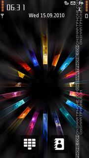 Скриншот темы Colorful Cycle
