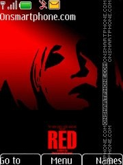 Red Movie 2010 theme screenshot