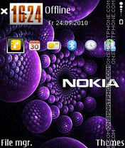 Nokia 7233 theme screenshot
