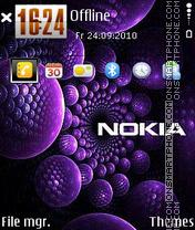 Скриншот темы Nokia 7233