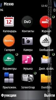 Brands Icons theme screenshot