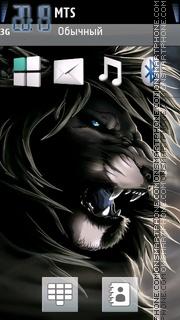 Скриншот темы Dark Lion