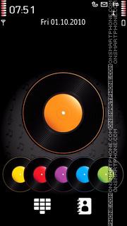 Скриншот темы Colored Vinyl