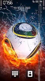 Скриншот темы Fire Football