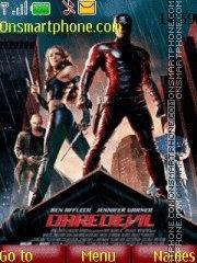 Daredevil theme screenshot