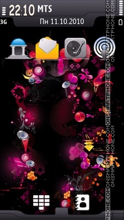 Скриншот темы Energy of Musik 02