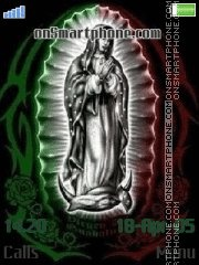 Virgen mx tema screenshot