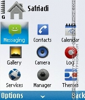 Nokia android by 4di theme screenshot
