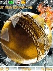 Golden Ball theme screenshot
