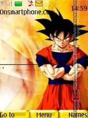 Dragon Ball Z 03 theme screenshot