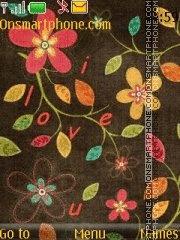 Nokia Flowers theme screenshot