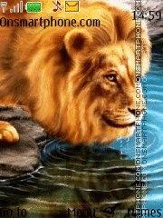 Lion 20 es el tema de pantalla