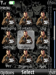 Gta Icons theme screenshot