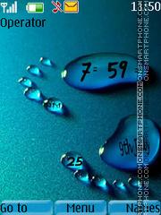 Footprint clock es el tema de pantalla