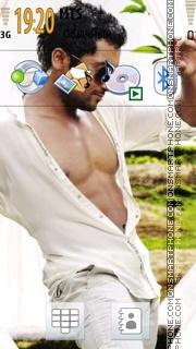 Surya Sivakumar theme screenshot