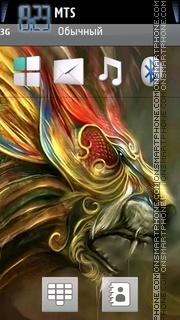 Fantasy Lion theme screenshot