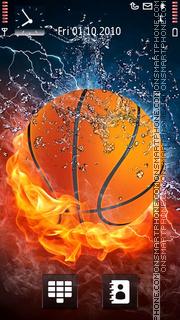 Скриншот темы Fire Basketball