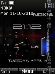 Nokia mobile theme screenshot