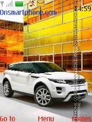 Range Rover Evoque theme screenshot