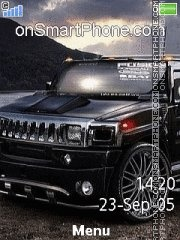 Hummer H2 Virtual theme screenshot