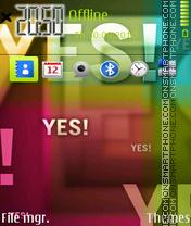 Yes es el tema de pantalla