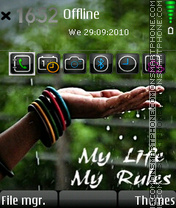 Life rules 01 theme screenshot