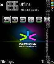Nokia 7234 theme screenshot