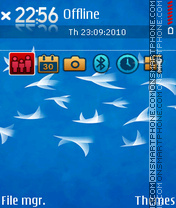 Flock 01 tema screenshot