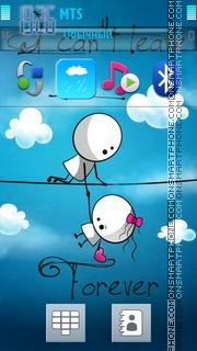 Forever Love 05 es el tema de pantalla