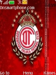Club Toluca theme screenshot