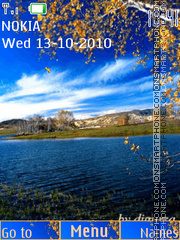 Autumn by djgurza (swf 2.0) tema screenshot