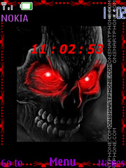 Skull 13 theme screenshot