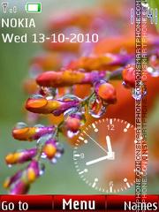 Autumn Clock 01 es el tema de pantalla