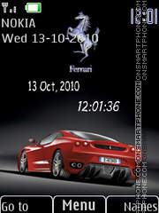 Ferrari With Tone tema screenshot