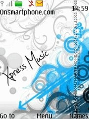 Vector Xpressmusic tema screenshot