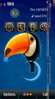 Toucan S^3 theme screenshot