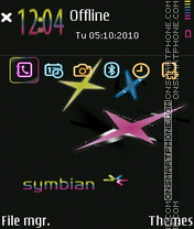 Sum color star tema screenshot