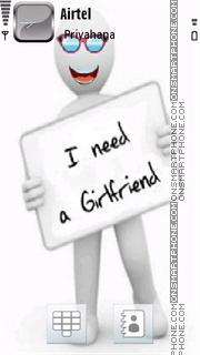 Girlfriend 02 tema screenshot