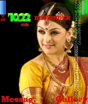 Hansika4 theme screenshot