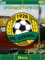FC Kuban Yari theme screenshot