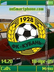 FC Kuban K850 theme screenshot
