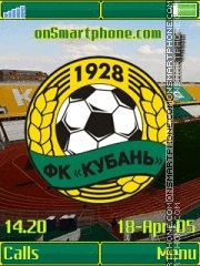 FC Kuban K790 theme screenshot