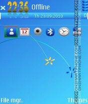 Bright 3rd tema screenshot
