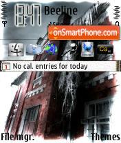 Скриншот темы Cold Castle