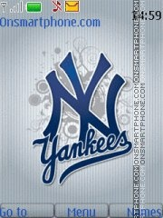 New York Yankees 04 theme screenshot